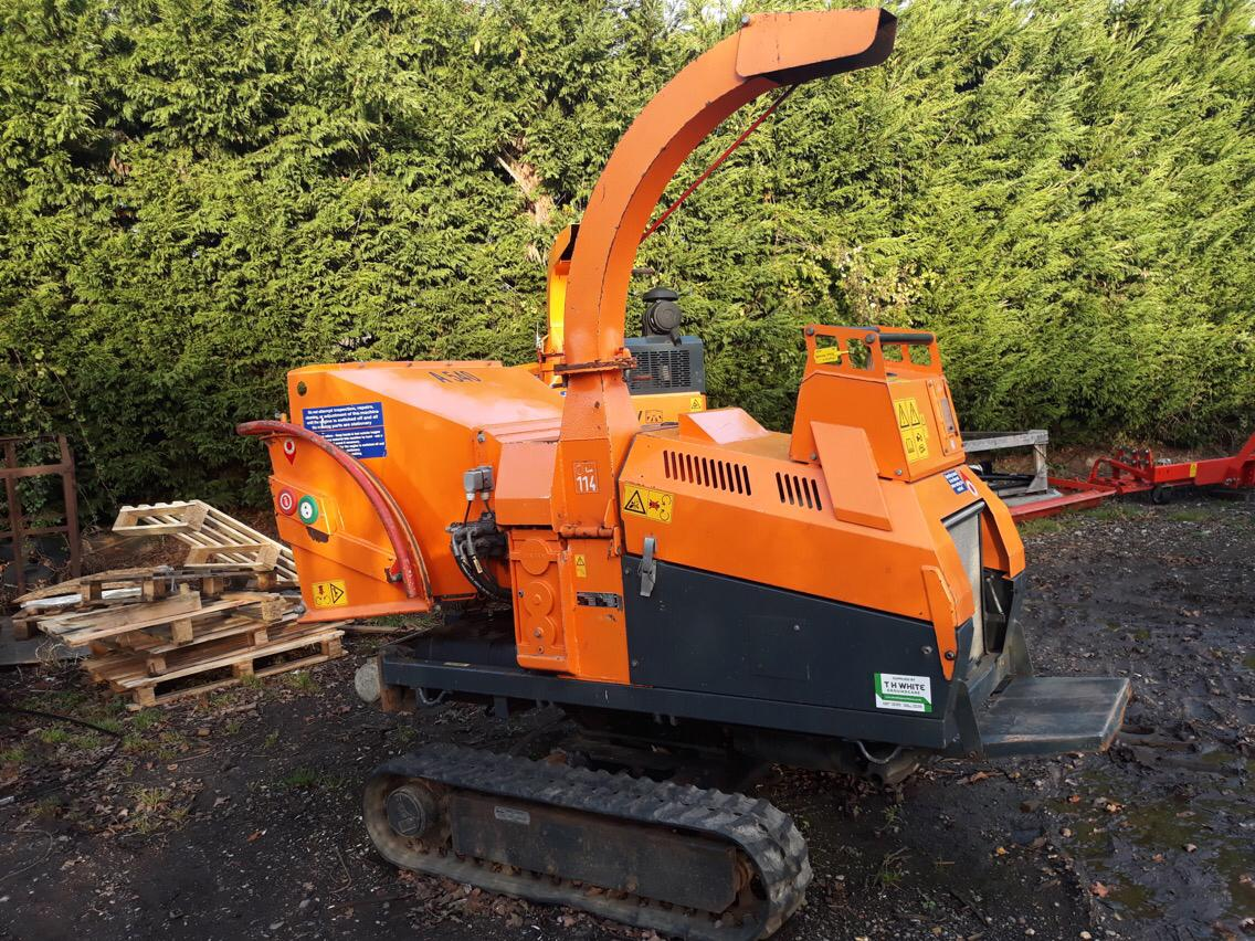 Jensen A540 Vari Tracked Chipper Field Amp Forest Machinery