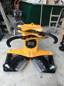 TerraTech 200 and 300 tree shears for sale Scotland, UK