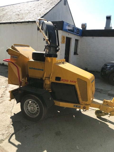 Used Schleizing 235MX Chipper for sale