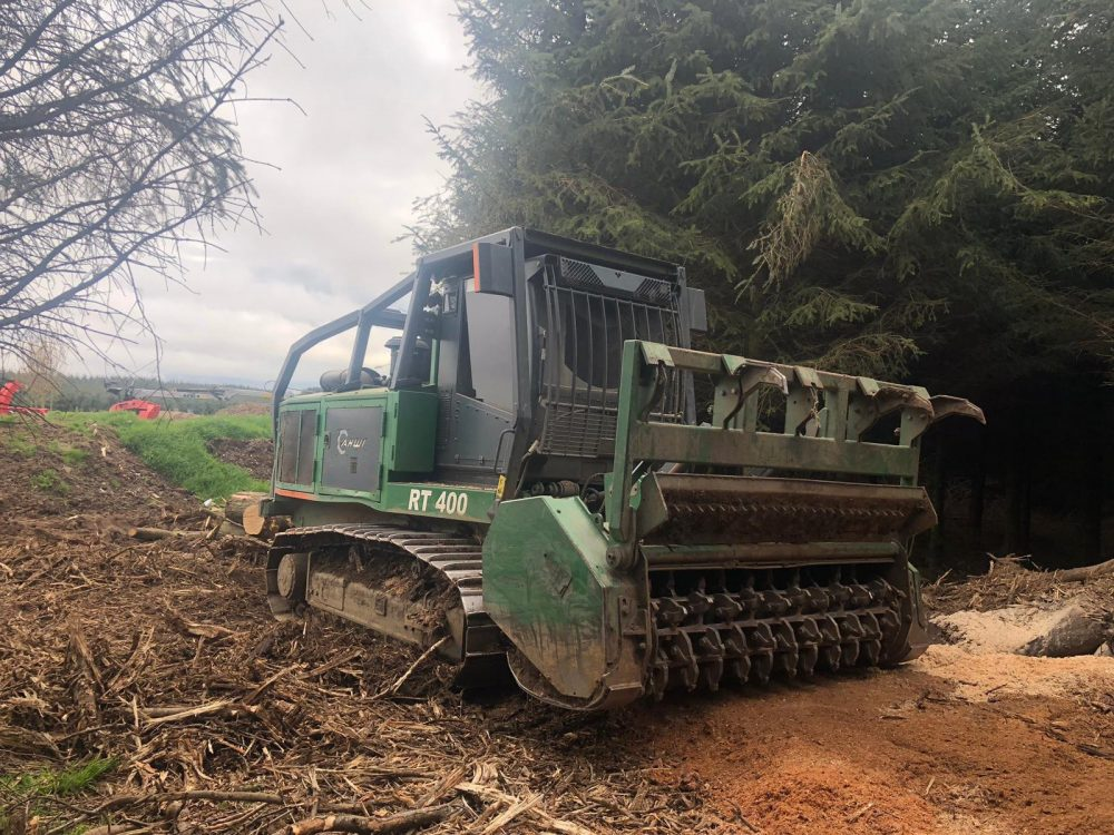 Used AHWI RT 400 Self Propelled Mulcher for sale Scotland, UK