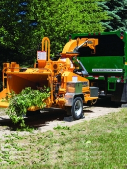 "990XP – 12"" Drum Chipper"