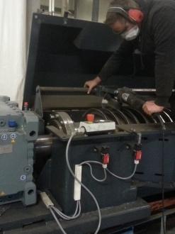 Strahltechnik Cylindrical Screw Chipper ZSH 35 EGB