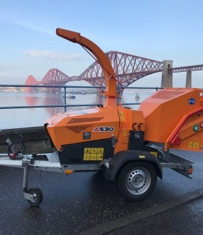 Wood Chipper Hire – Jensen A530