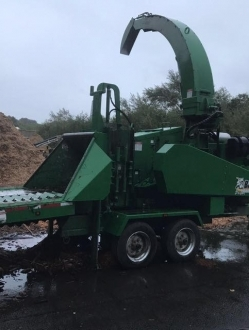 2015 Bandit 18SVC Drum Chipper