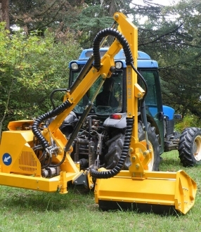 Femac DOC 201 Side Arm Flail (2-2.5T Tractors)
