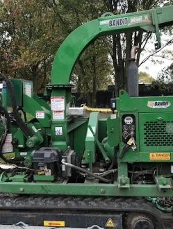 Bandit 75 XP Tracked Wood chipper