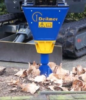 Deitmer DGA Cone Splitter (1 – 5t machines)