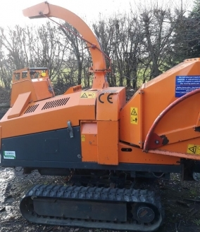 Jensen A540 vari tracked chipper