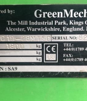 Greenmech Chipper