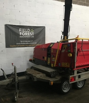 "TP 215 chipper 9"" capacity"