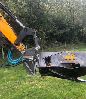 Used TMK 300 with 360 worm rotator