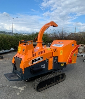 Ex demo / hire Jensen A540  vari tracked chipper