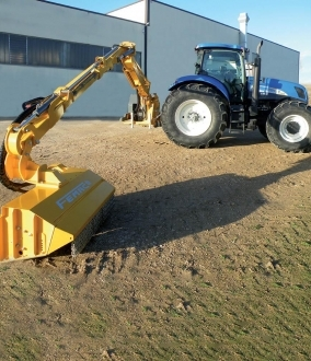 Femac VFR 8T Side Arm Flail (7.0T+ Tractors)