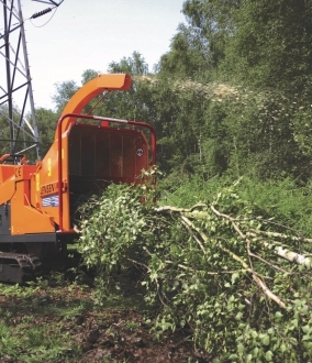 Tracked Wood Chipper Hire – Jensen A540