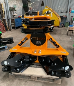 Used 2019 TerraTech 400 tree shear