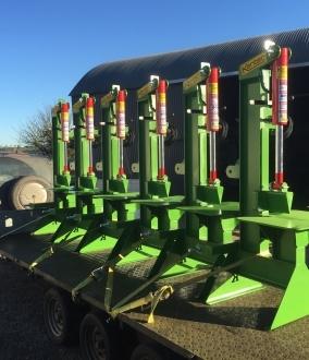 Kentec Heavy Duty Vertical Hydraulic Log Splitter