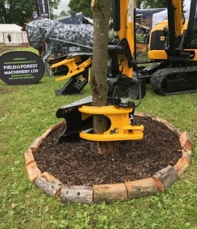 Tree Shear Hire – 300mm Cut