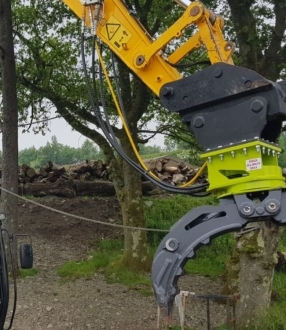 Timberquip Rigid Rotating Grab