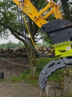 Timberquip Rigid Rotating Grab