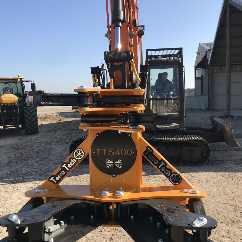 TerraTech 400 tree shear for sale Scotland, UK